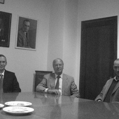 Antonio Bruno Malucelli fondatore di BAIC con i figli Federico e Ruggero